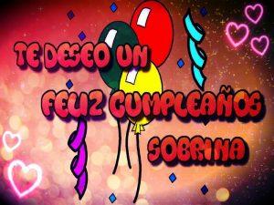 Feliz Cumpleaños Sobrino O Sobrina