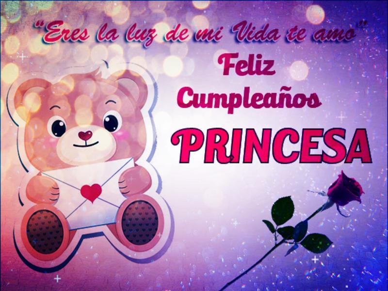 Feliz Cumpleaños Para Una Princesa Hermosa