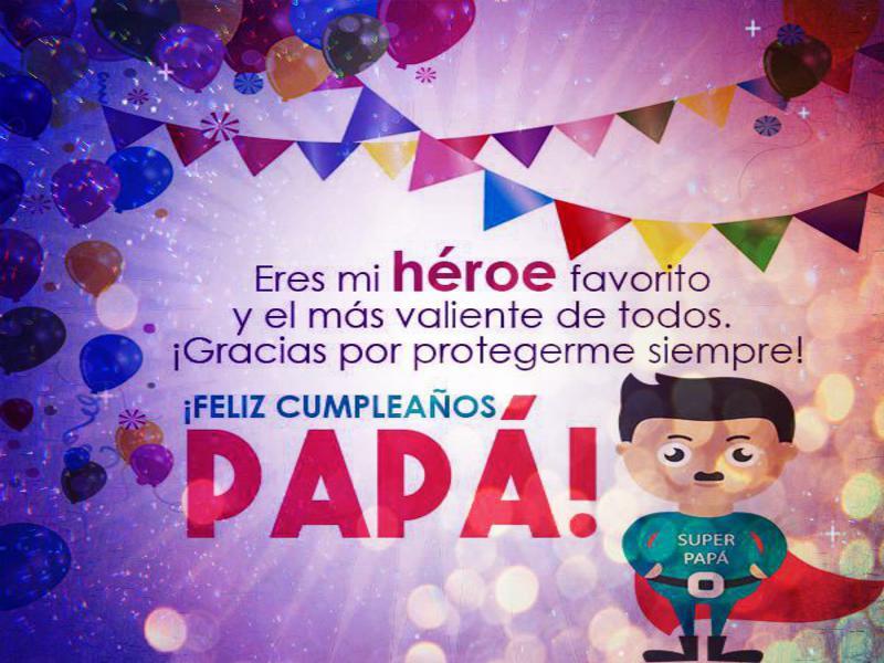 Todo Para El Feliz Cumpleaños De Un Papá